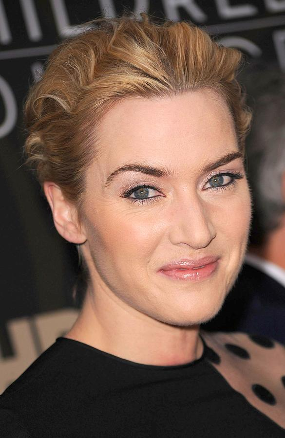 Kate Winslet Photograph - Kate Winslet At Arrivals For Mildred by Everett