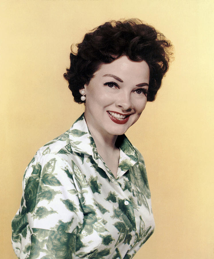 1950s Hairstyles Photograph - Kathryn Grayson, Ca 1950s by Everett