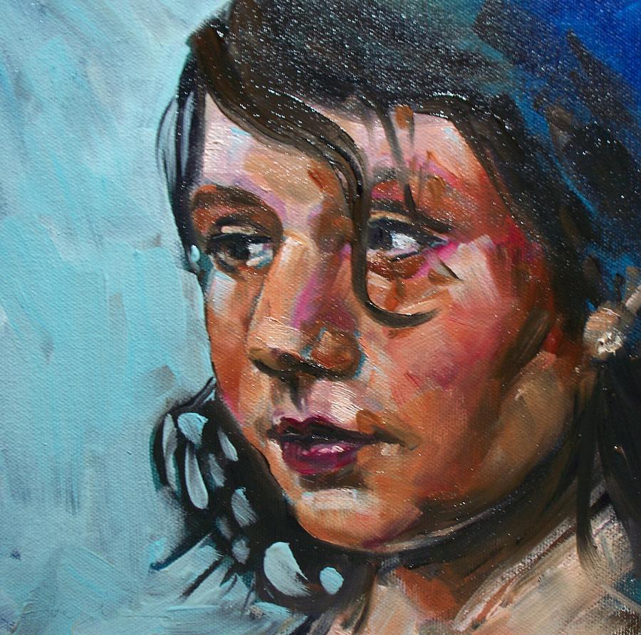 Katie Painting - Katie by Sheila Tajima