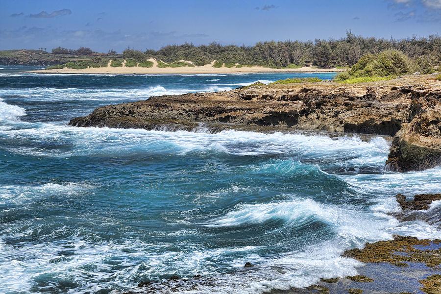 Kauai Photograph - Kauai Beach by Kelley King