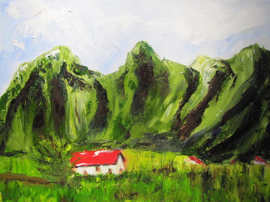 Hawaii Painting - Kaui Hawaii by Jenell Richards