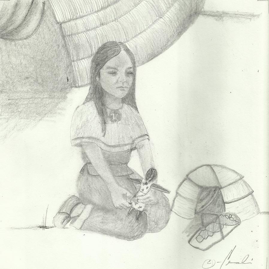 Drawing Drawing - Kazo by Candi Wesaw