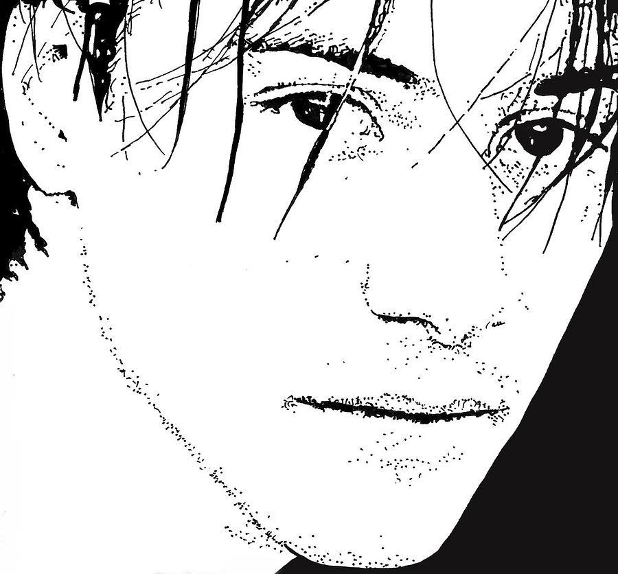 Keanu Reeves Drawing - Keanu Reeves 2 by Lori Jackson