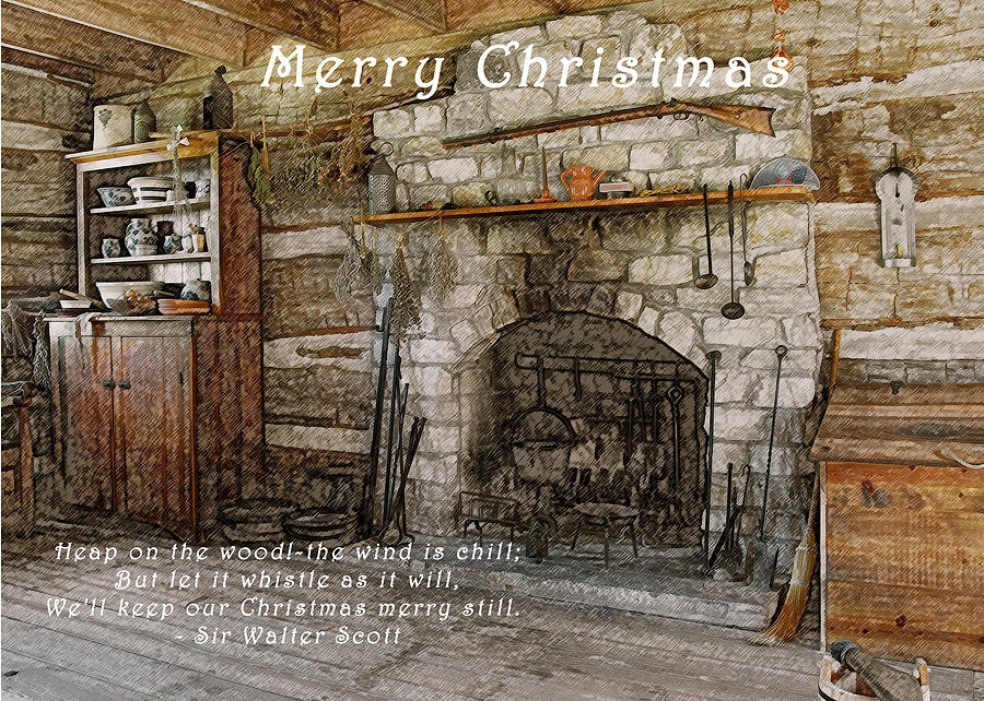 Christmas Photograph - Keep Christmas Merry by Michael Peychich