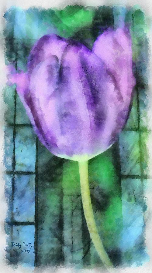 Flower Photograph - Keep It Simple by Trish Tritz