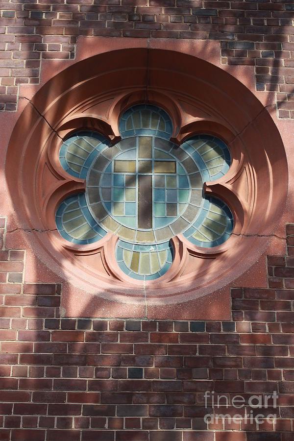 Church Pyrography - Keep The Faith by Ted Wheaton