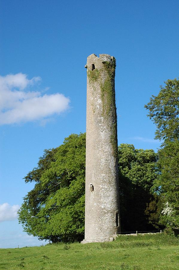 Ireland Photograph - Kells Tower by George Crawford