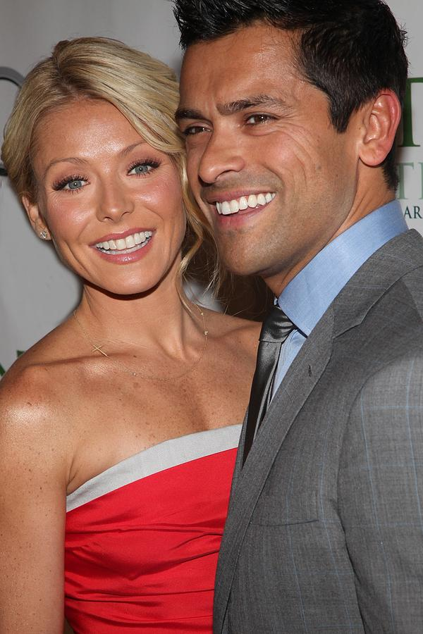 Kelly Ripa Photograph - Kelly Ripa, Mark Consuelos At Arrivals by Everett