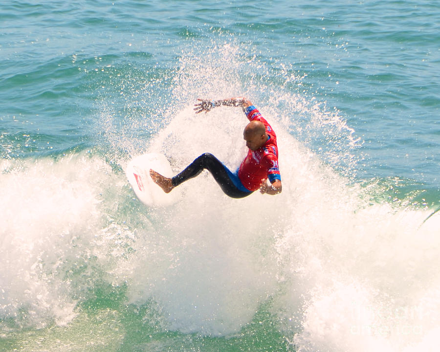 Kelly Slater Photograph - Kelly Slater Us Open Of Surfing 2012     6 by Jason Waugh