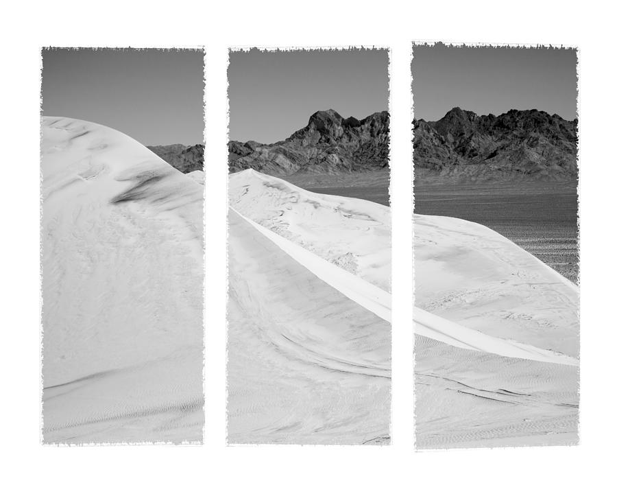 Kelso Sand Dunes Photograph - Kelso Dunes Triptych by Kelley King