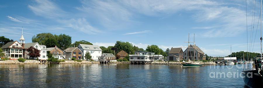 Maine Photograph - Kennebunkport Maine by Jim Chamberlain