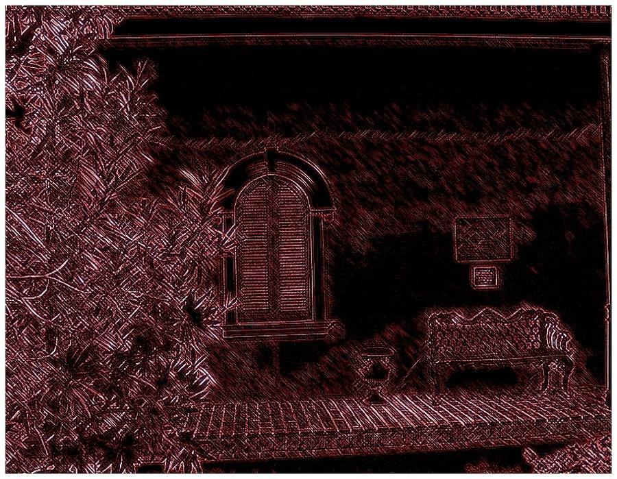 Landscape Photograph - Kenner Bench by Marian Hebert