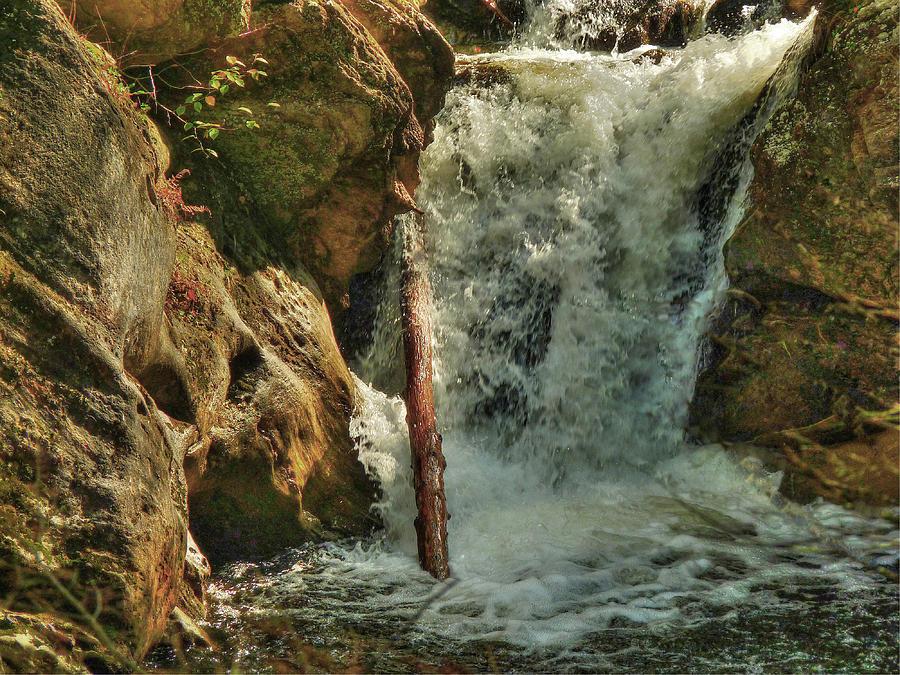 Kent Falls Photograph - Kent Falls Redux by William Fields