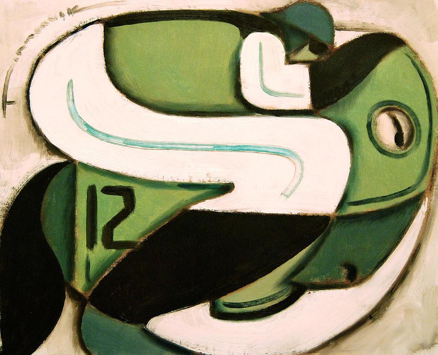 Jockey Painting - Kentucky Derby Horse Racing  by Tommervik