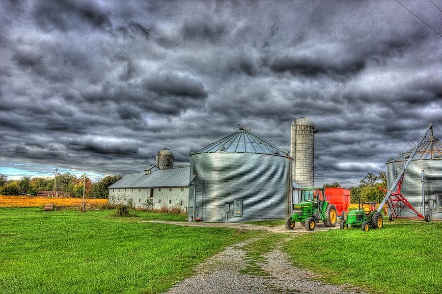 Hdr Photography Photograph - Kentucky Farm 3 by Barry Jones