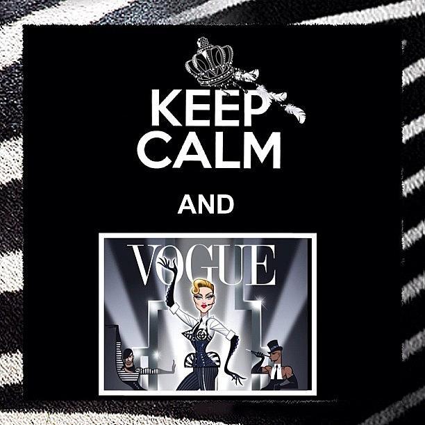Kerp Calm And Vogue!! ✌🆒👏 Photograph by Dvon Medrano