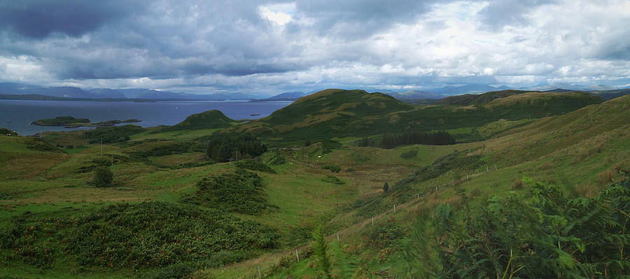 Panorama Photograph - Kerrera And The Firth Of Lorn  by Steve Watson