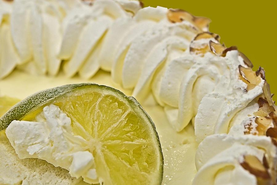 Close Photograph - Key Lime Pie  by Susan Leggett
