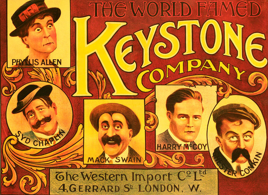 Allen Photograph - Keystone Film Company, Promotional by Everett