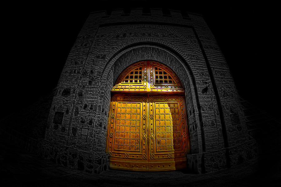 Gate Photograph - Kievs Golden Gate by Dmitriy Mirochnik