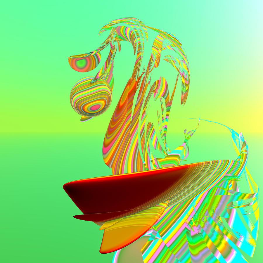 Killer Wave Digital Art