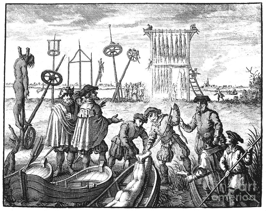 Amsterdam Photograph - Killing Of Anabaptists by Granger