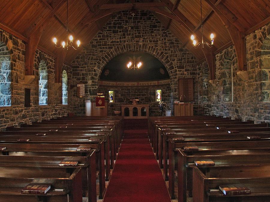 Church Photograph - Kilmore Church Dervaig by Steve Watson