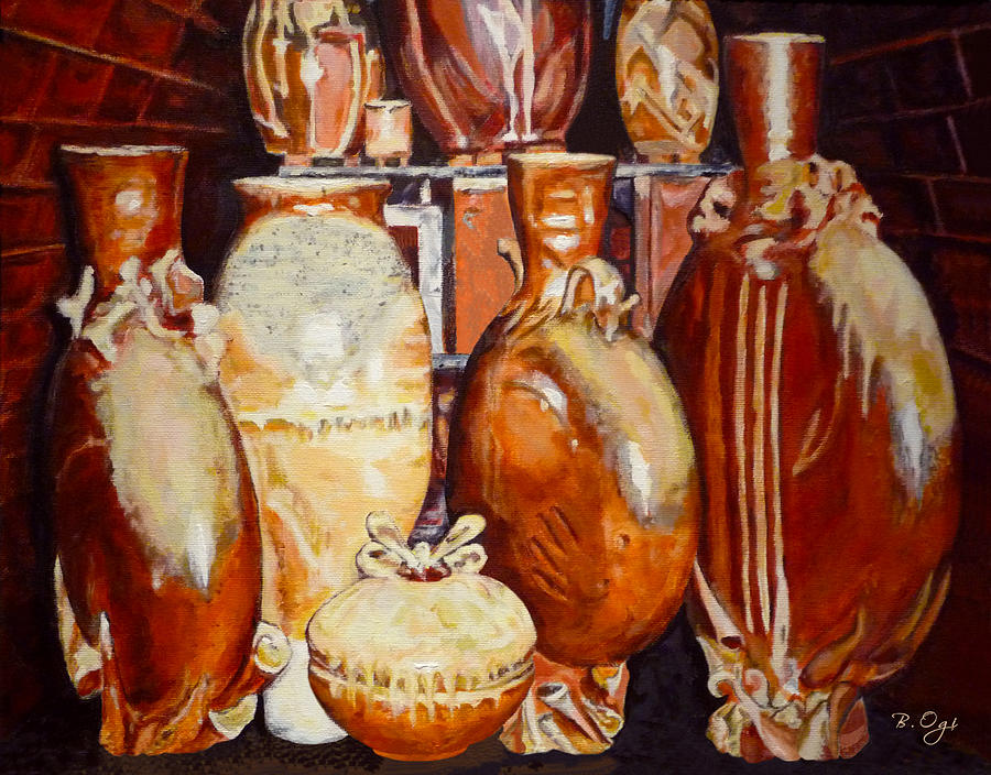 Still Life Painting - Kiln Party by Brian Ogi