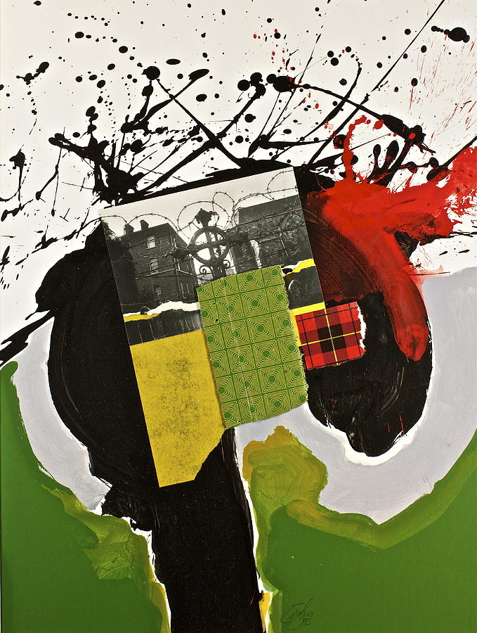 Abstract Paintings Painting - Kilter by Cliff Spohn