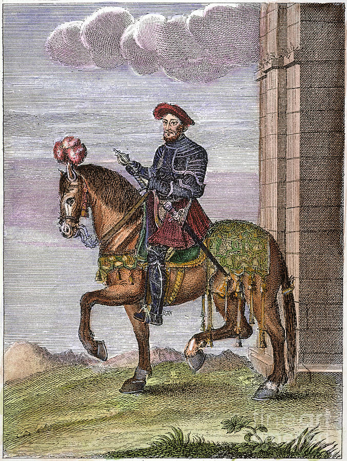 16th Century Photograph - King Francis I (1494-1547) by Granger