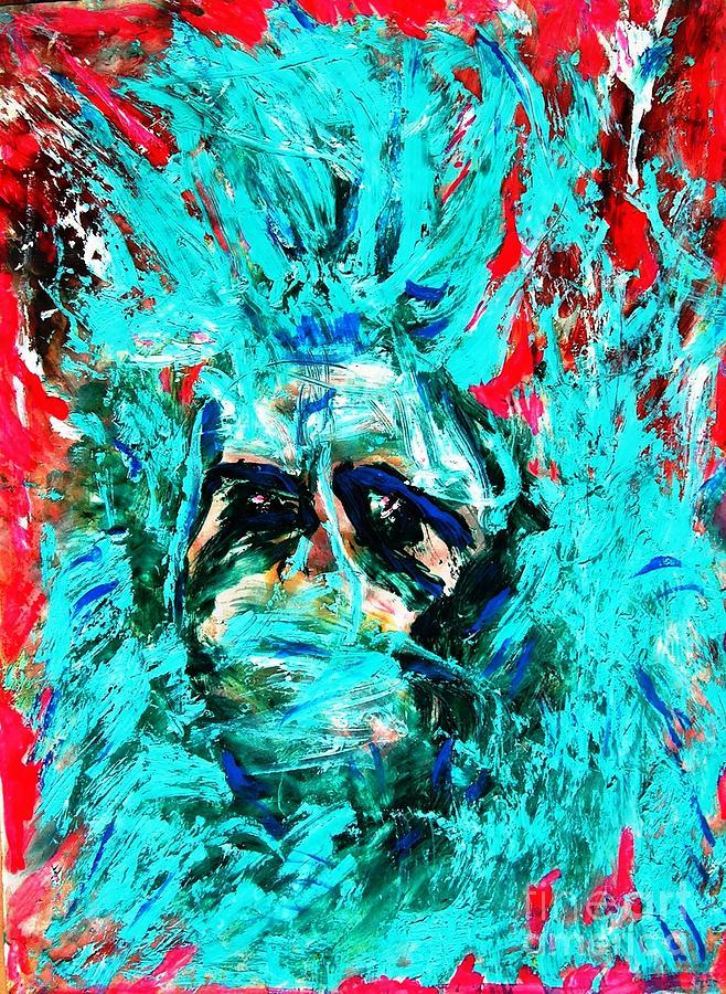 Abstract Painting - King Kong by Darlyne Sax