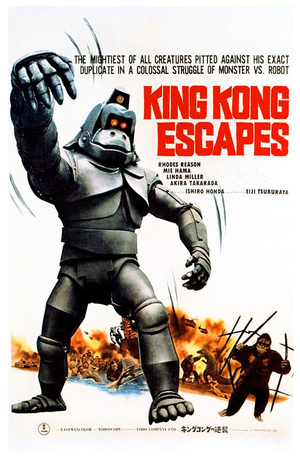 King Kong Escapes, Aka Kingukongu No by Everett