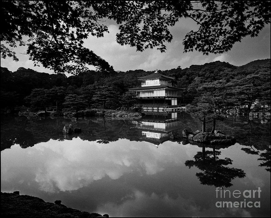 Kinkaku-ji Photograph - Kinkaku-ji Temple Kyoto by Aldo Cervato