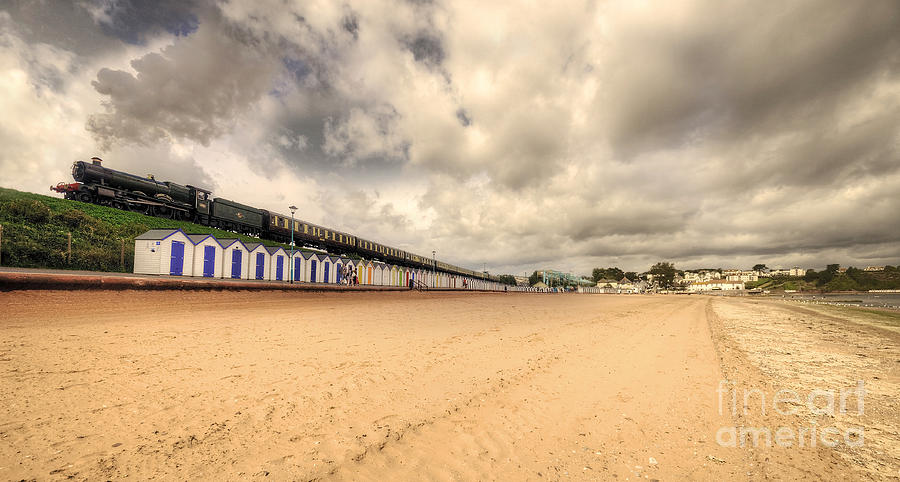 Hall Photograph - Kinlet Hall At Goodrington Sands by Rob Hawkins