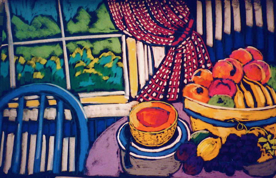 Kitchen Still Life by Doris  Lane Grey