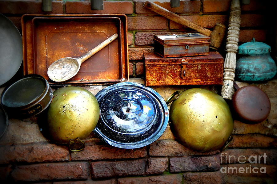 Kitchen Photograph - Kitchen Still Life by Kevin Fortier
