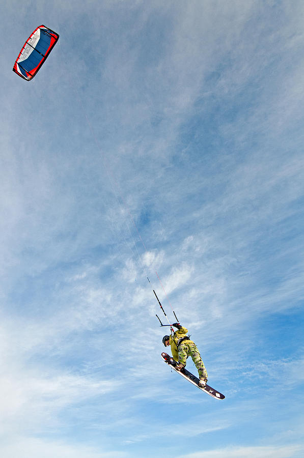 Kite Photograph - Kite Board by Elijah Weber