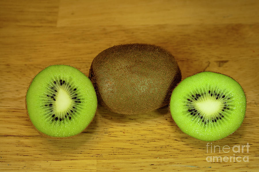 Kiwi Photograph - Kiwi Kiwi And More Kiwi by Michael Waters
