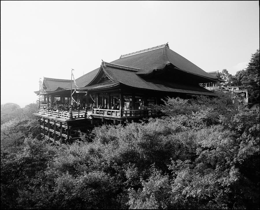 Kinkaku-ji Photograph - Kiyomizu Dera Temple Kyoto by Aldo Cervato