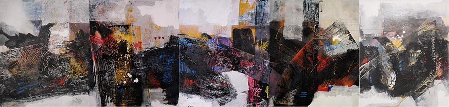 kj  Painting by Mohamed KHASSIF