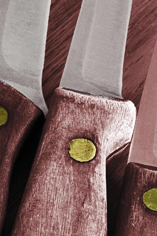 Knife Photograph - Knives II by Bill Owen