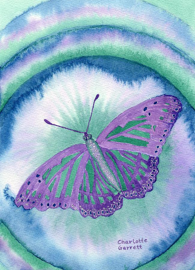 Knowingness Butterfly by Charlotte Garrett