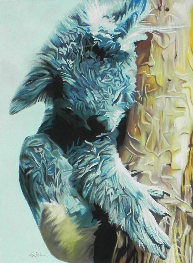 Koala Pastel - Koala by Paul Miners