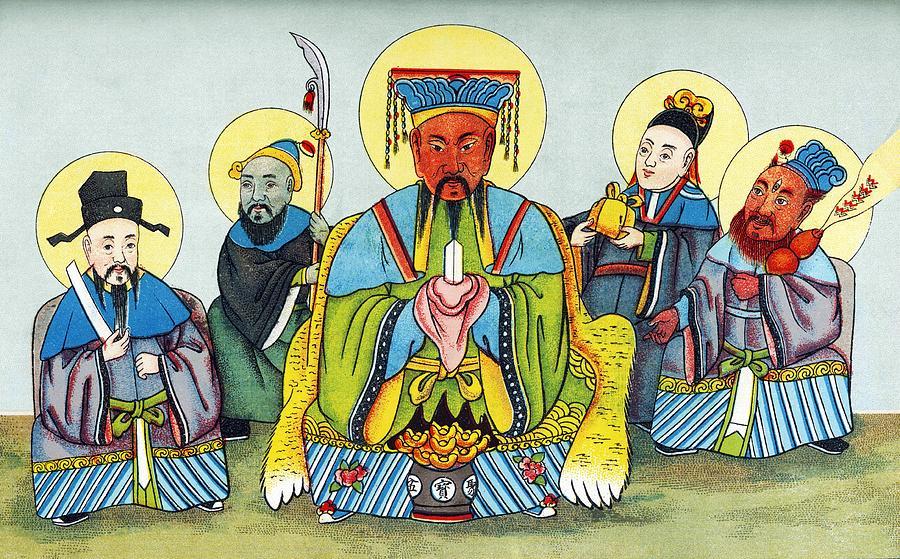 Koan-kong Photograph - Koan-kong, Chinese God Of Riches by Sheila Terry