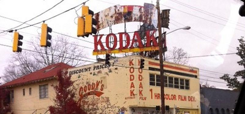 Photograph Photograph - Kodak Building In Atlanta by Courtney Gainey