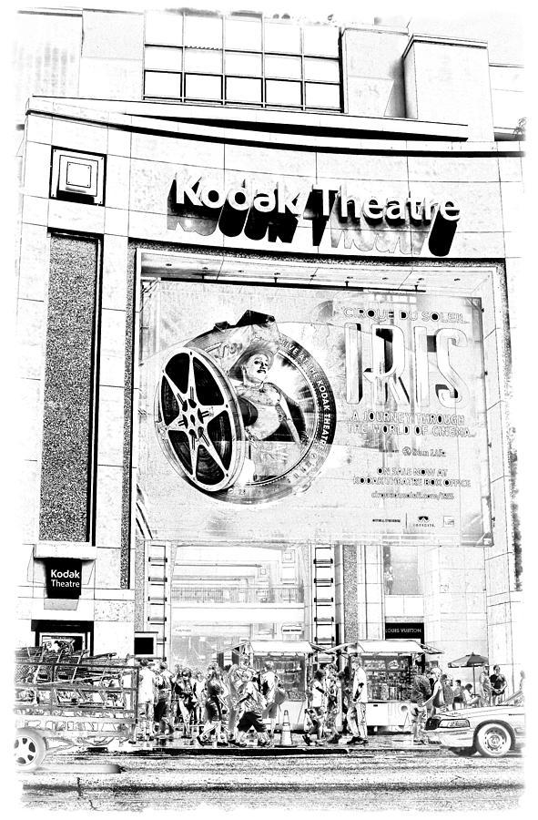 Academy Photograph - Kodak Theatre by Ricky Barnard
