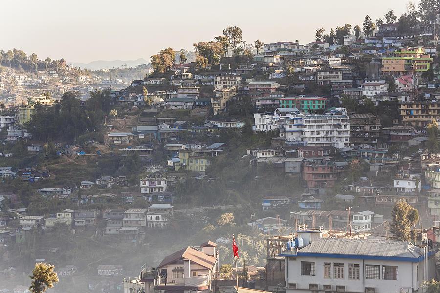 Kohima, Nagaland, North East India Photograph by Peter Adams
