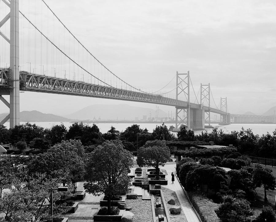 Kinkaku-ji Photograph - Kojima Sakaide Bridge by Aldo Cervato
