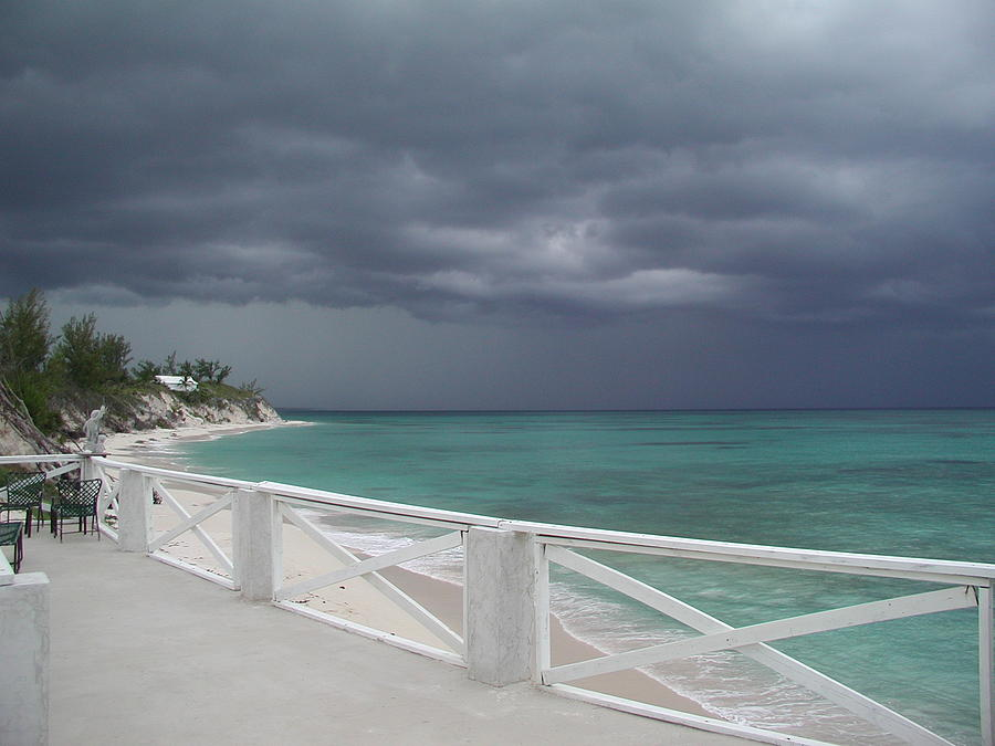 Beach Photograph - Kokomo Thunderstorm by Michael Picco