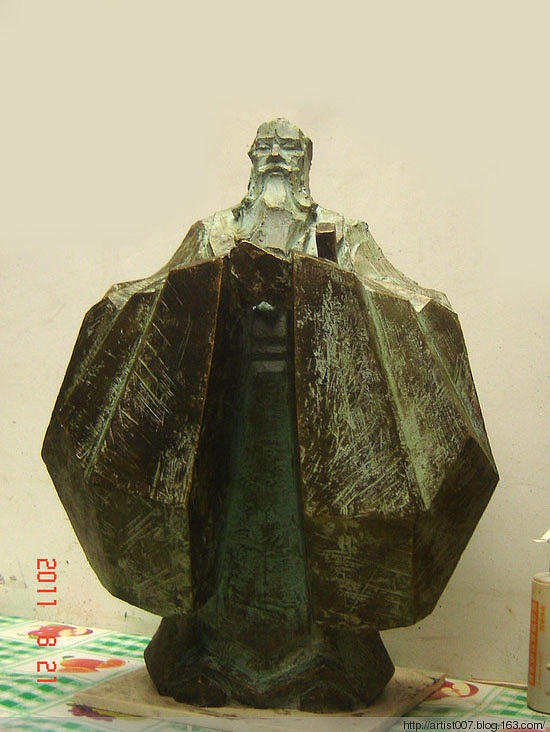 Kongzi Sculpture - Kongzi by Lihuabing Lihuabing